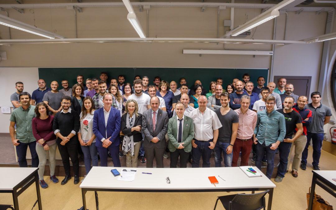 Participamos en las sesiones de formación sobre «Big Data» en el laboratorio de ciencias de datos de Navarra